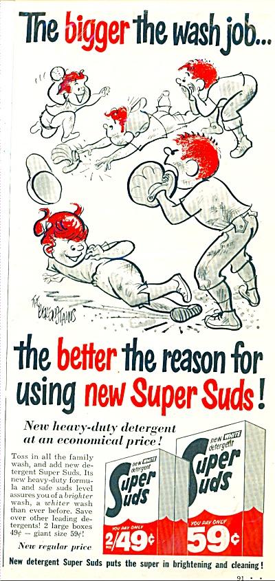 1963 Super Suds Detergent AD BERENSTAINS (Image1)