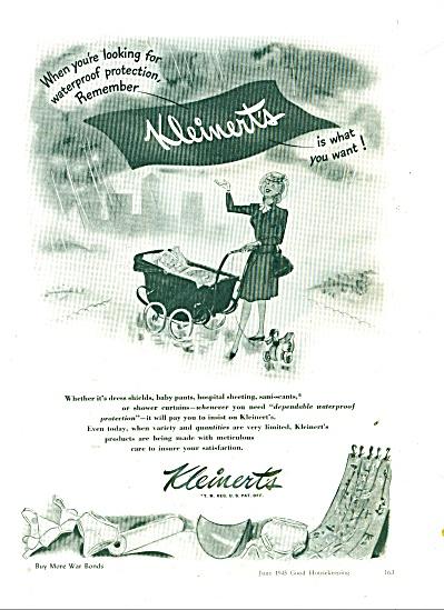 Kleinert's products ad  1945 (Image1)