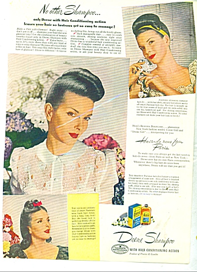 1945 Drene AD MODEL BETTINA BOLEGARD Cover (Image1)