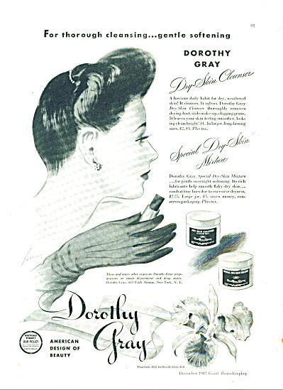 1945 Dorothy Gray Skin AD Artist LEMON ARTWOR (Image1)