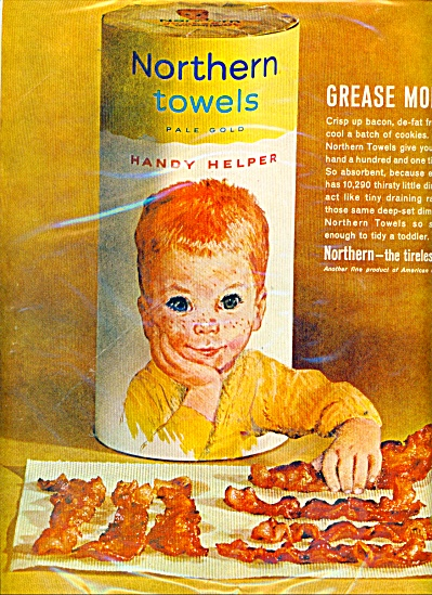 1962 RED HEAD BOY Northern Towels AD (Image1)