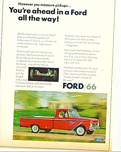 Ford trucks for 1966 (Image1)