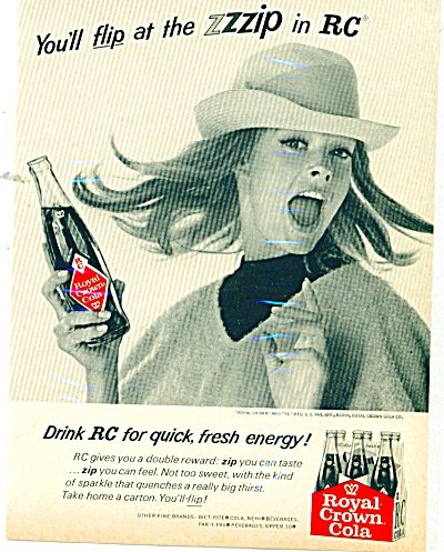 1966 Royal Crown cola ad (Image1)