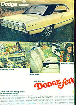 Dodge Fever  - Dodge Dart 1968 AD FEVER (Image1)