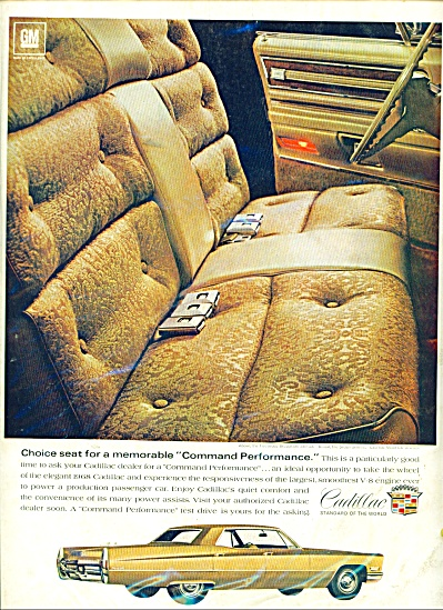 1968 Cadillac Sedan deVille Car AD (Image1)