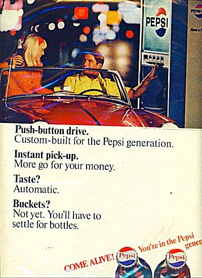 Pepsi Cola Ad - Car Drive Thru AD (Image1)