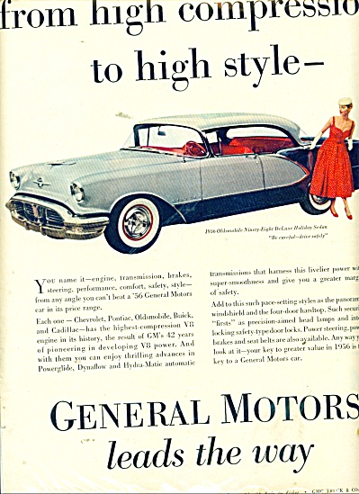 GEneral Motors lead the way ad 1956 (Image1)