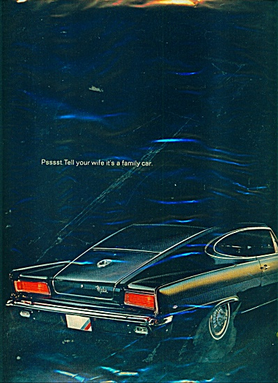 American  Motors Marlin for 1966 (Image1)