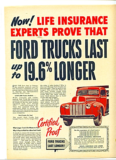 Ford Trucks last longer ad 1947 (Image1)