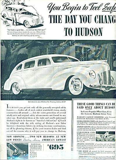 Hudson automobile ad 1939 (Image1)