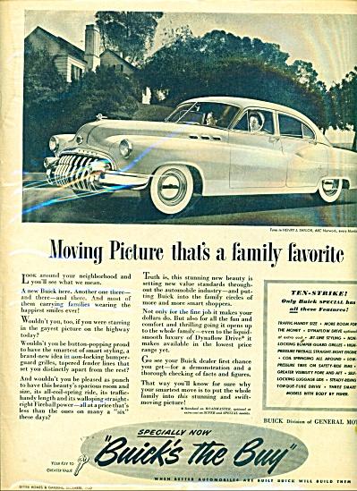 1949 BUICK CAR PROMO AD Roadmaster (Image1)