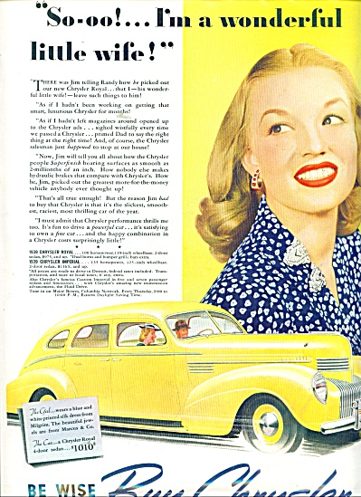1939 Chrysler Royal and Imperial autos AD (Image1)