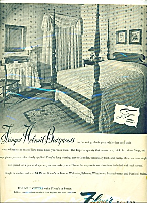 Filene's Boston bedspreads ad 1946 (Image1)