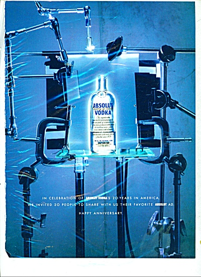 Absolut vodka  ad (Image1)