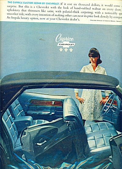 Chevrolet Caprice ad (Image1)