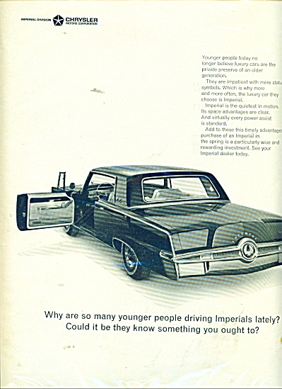 Chrysler Imperial ad 1965 (Image1)