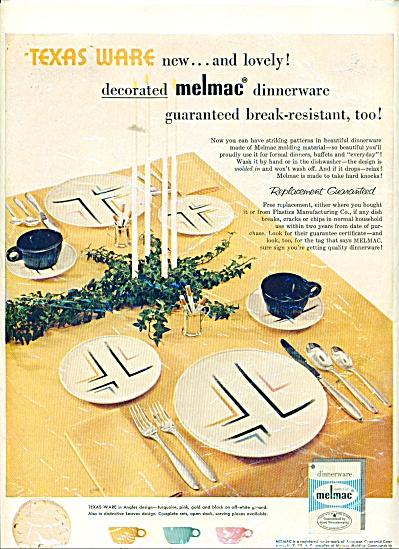 1955 MELMAC Texas Ware Angeles AD Pattern (Image1)