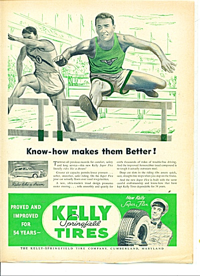 Kelly Springfield Tires Ad