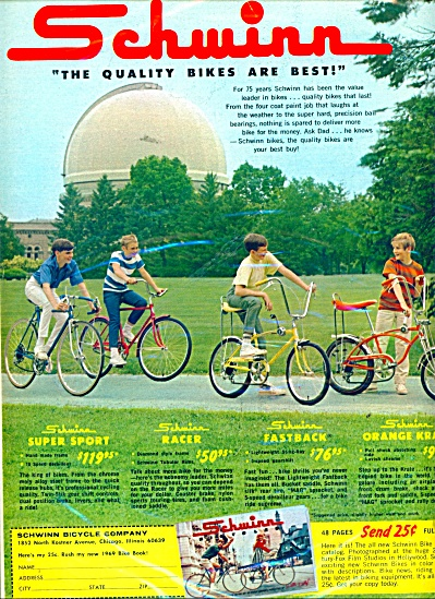Schwinn bikes are best ad (Image1)