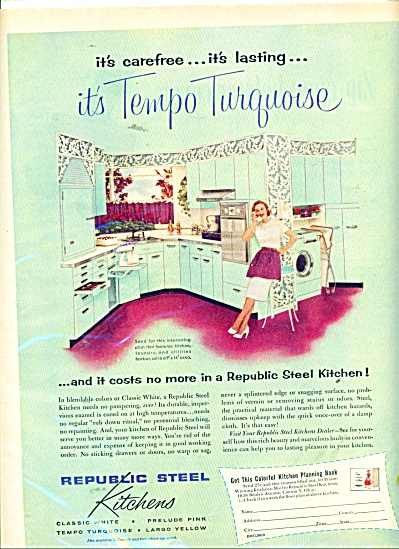 Republic steel kitchens ad 1956 (Image1)