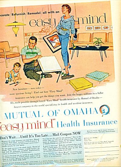 1956 Mutual of Omaha Insurance AD LUCIA ARTWO (Image1)