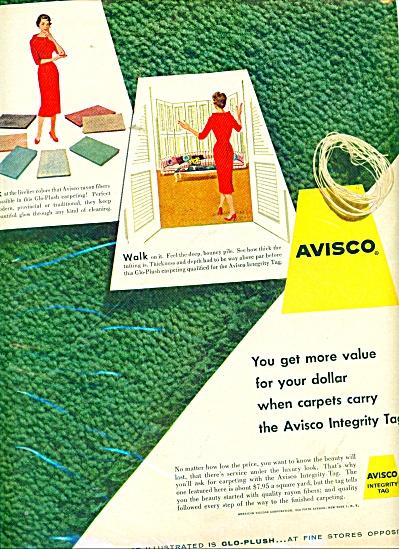 Avisco Carpets ad 1956 (Image1)