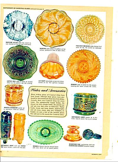 Plates, Vases, baskets, candy dishes etc. (Image1)