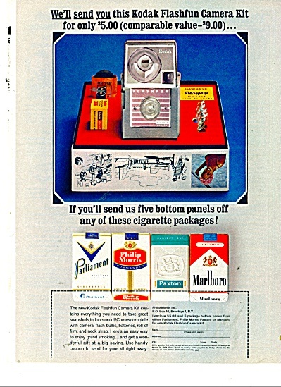 Kodak Flashfun camera kit sale ad 1964 (Image1)