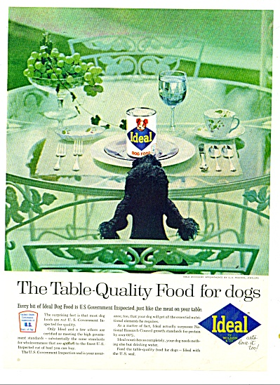 Ideal Dog food ad 1962 (Image1)