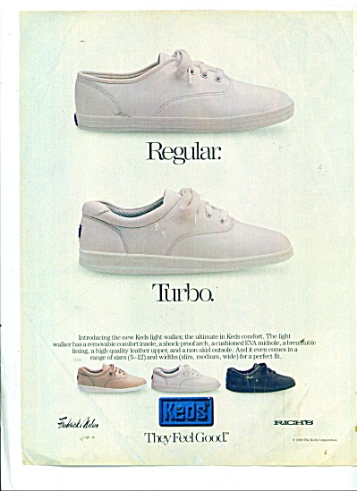 Frederick & Nelson - Rich's shoes ad  1990 (Image1)