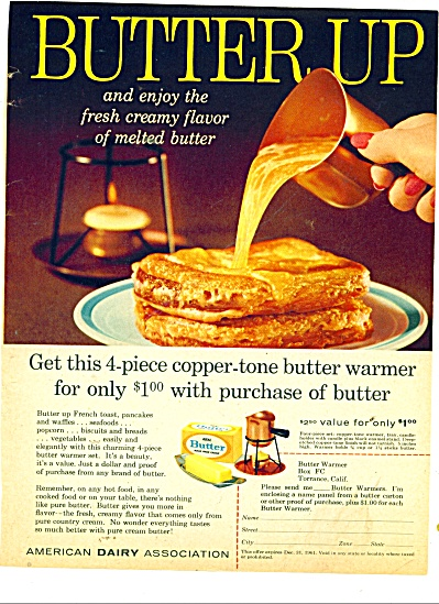 Butter up - American Dairy Association ad (Image1)