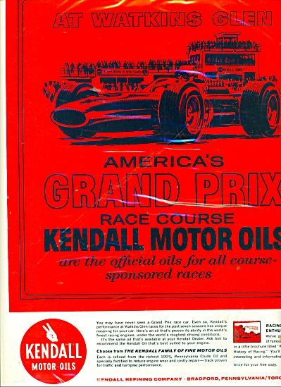 Kendall motor oils  ad (Image1)