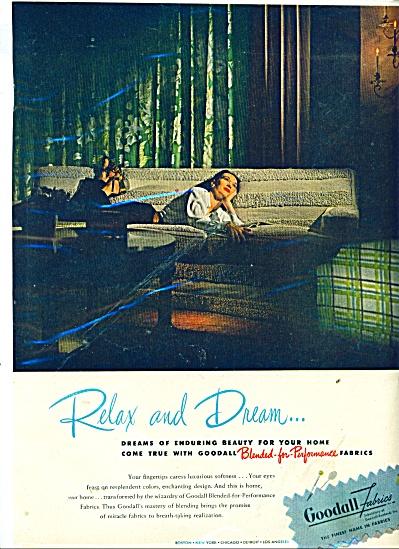 Goodall Fabrics ad 1946 (Image1)