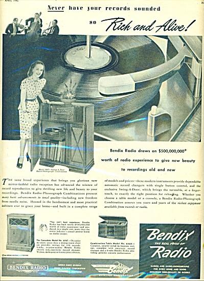 Bendix Radio ad 1946 (Image1)