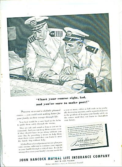 1939 JOHN HANCOCK Life REVERE Wistehuff ART (Image1)
