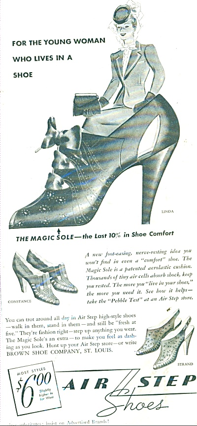 Air Step shoes ad  1939 (Image1)
