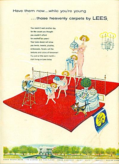 Lees Carpet Company ad 1957 (Image1)