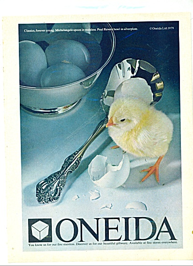 Oneida fine stainless ad 1981 (Image1)