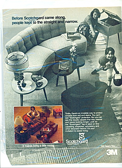 Scotchgard by 3 M ad 1981 (Image1)