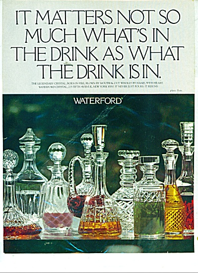 Waterford crystal  ad 1979 (Image1)