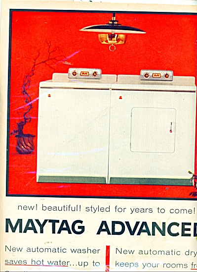 Maytag automatics washer and dryer ad (Image1)