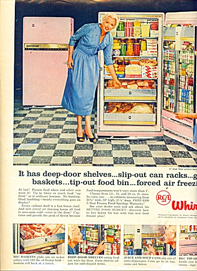 Whirlpool - FRAN ALLISON  ad  1957 (Image1)