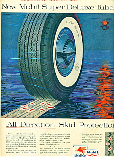 Mobil - mobilgas ad - tubeless tires.  ads (Image1)