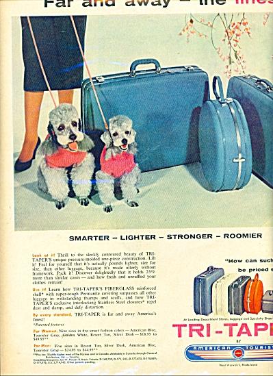 Tri-taper - American tourister luggage ad (Image1)