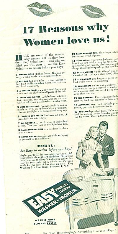 Easy washser- ironer ad 1946 (Image1)