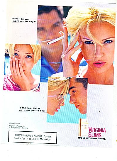 Virginia Slims ad  1991 (Image1)