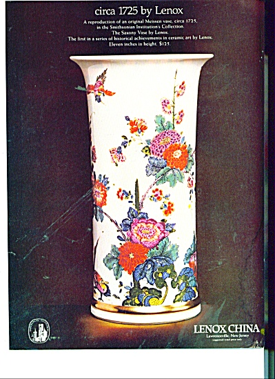 Lenox China ad 1981 (Image1)