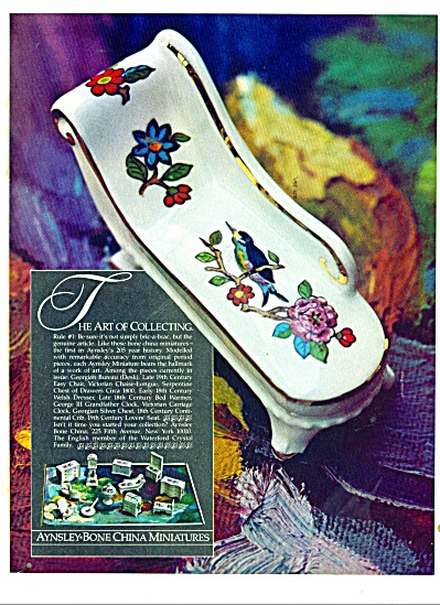 Aynsley-bone china ad 1981 (Image1)