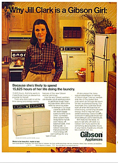 1980 Gibson appliances ad 1980 JILL CLARK (Image1)