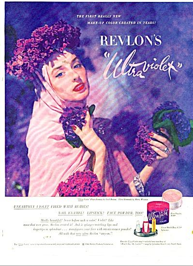 1946 REVLON ULTRA VIOLET CECIL BEATON AD (Image1)